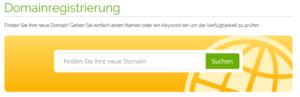 Domainsuche